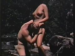 Hot Girl Having Hard Sex With Her Partner In Open Forest