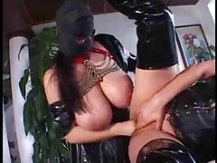 Getting Her Pussy Oiled And Fisted By A Freak