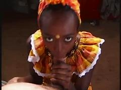African Queen Gets First Taste Of White Chocolate