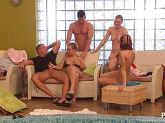 Horny Pool Party Part 7