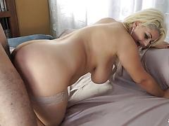 Italian BBW Slut Fucked By Horny Dude